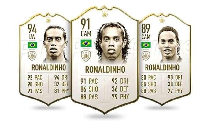 Le card di Ronaldinho su Fifa 20