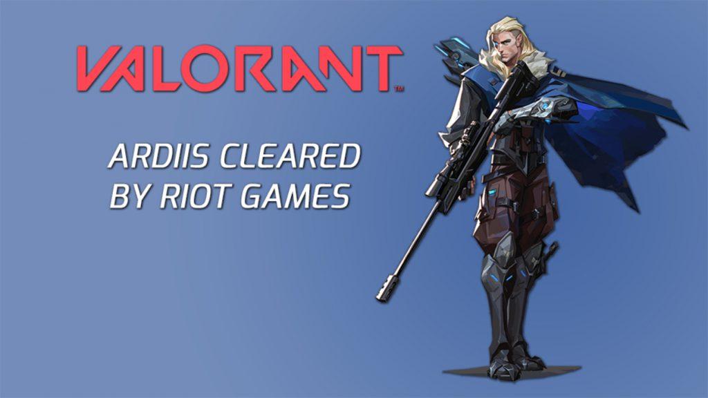 valorant ardiis riot games