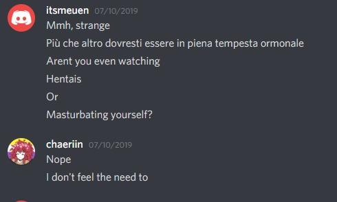 itsmeuen conversazioni