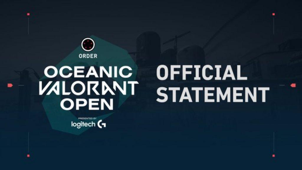 oceania ignition series valorant vanguard anti-cheat