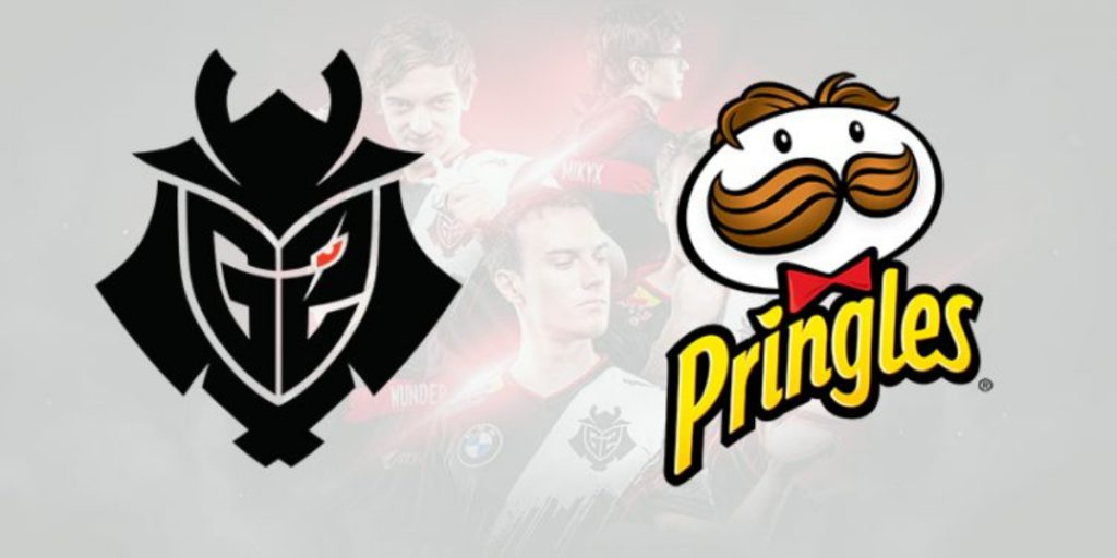 G2 esports pringles making the squad