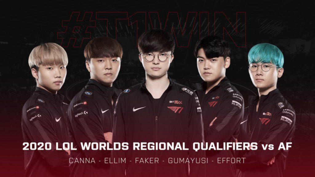 worlds league of legends LCK gumayusi T1
