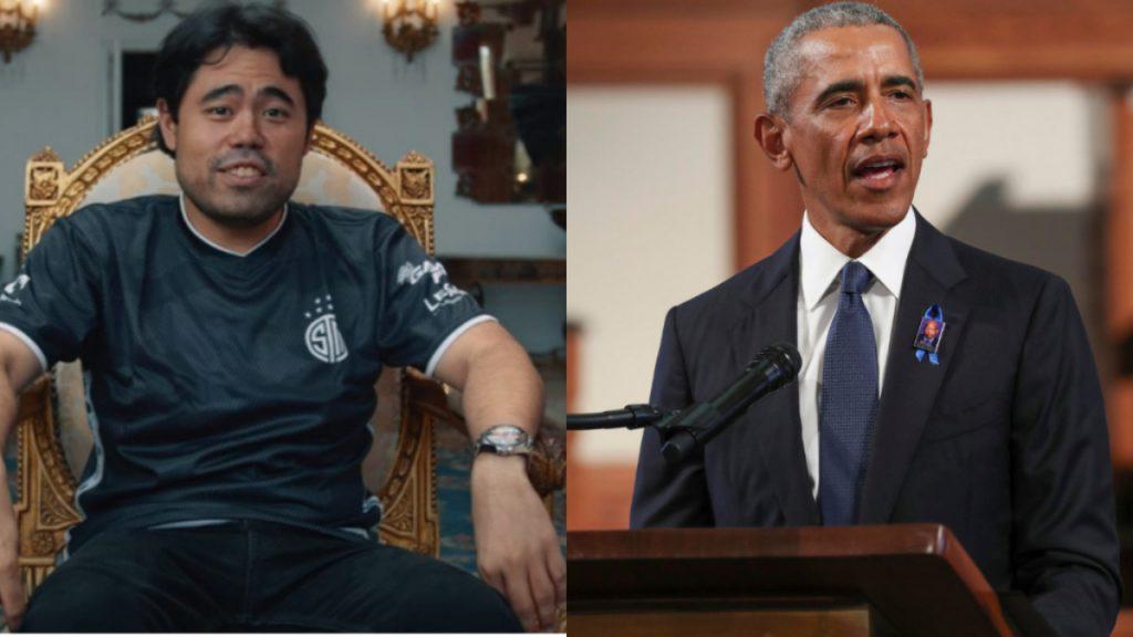 hikaru nakamura scacchi obama twitch biden