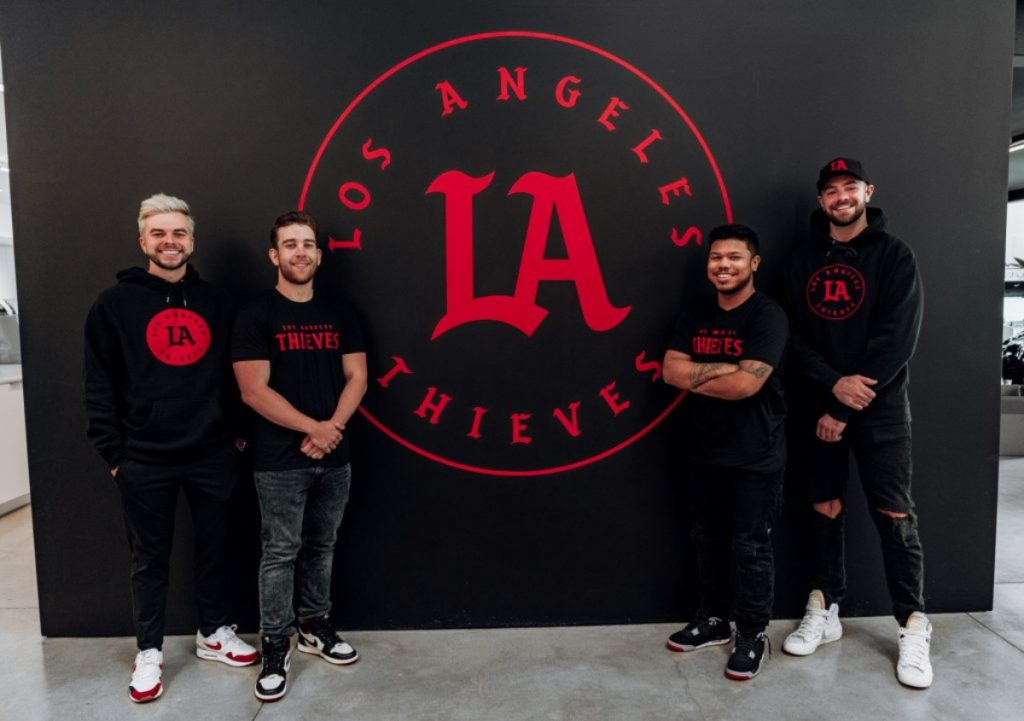 100 thieves call of duty league LA thieves