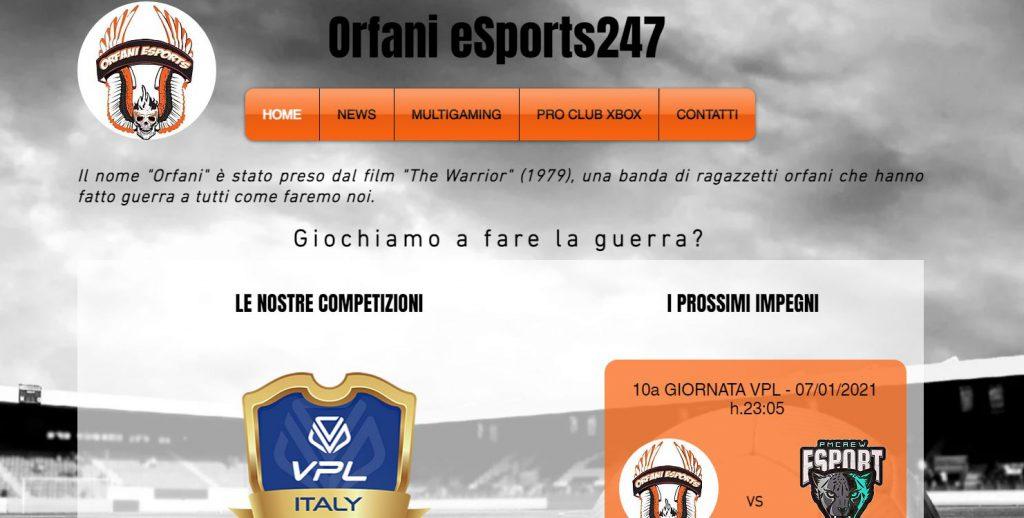 home page orfani