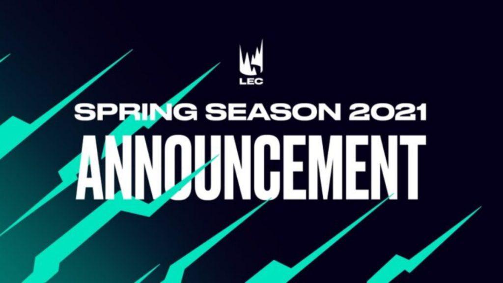 lec spring split 2021