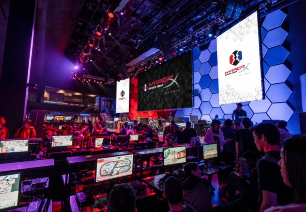 esports arena hyperx allied