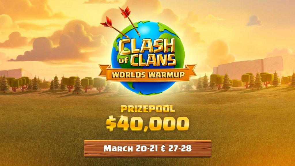 clash of clans worlds warmup