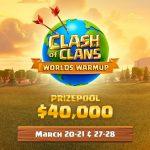 Clash of Clans World Championship 2021, si parte con il Worlds Warmup: montepremi da 40.000 dollari