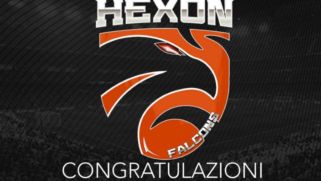 hexon falcons campione