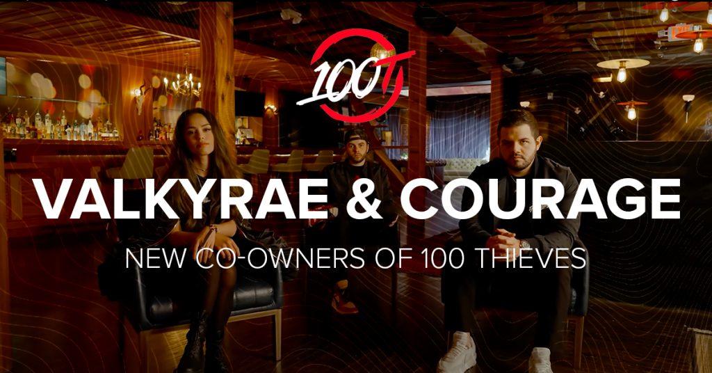 valkyrae courage 100 thieves