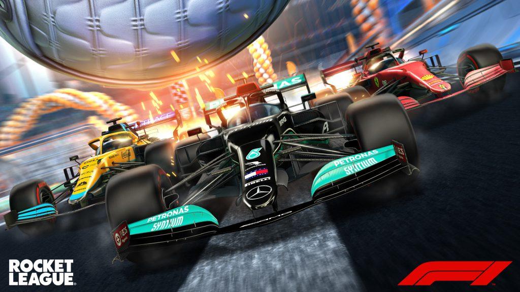 rocket league formula 1 esports