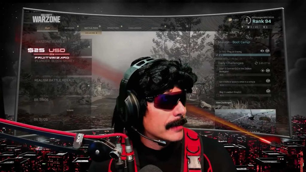dr disrespect twitch youtube gaming